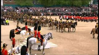 Trooping the Colour Part 2/3 - June 2012