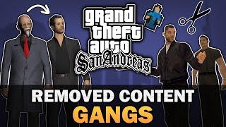 GTA SA - Beta Gangs [Compilation] [Analysis]