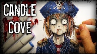 """Candle Cove"" Horror Story - Creepypasta + Anime Drawing"