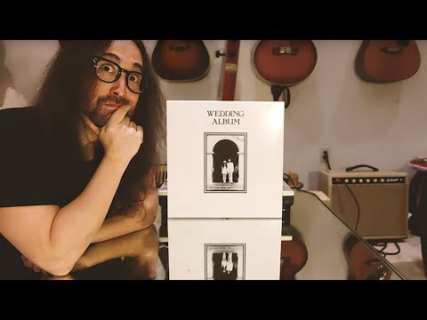 Dave Alexander - Sean Lennon Unboxes 'Wedding Album' 50th Anniversary Reissue