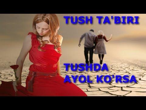 TUSH TA'BIRI - TUSHDA AYOL KO'RSA