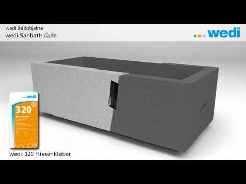 Wedi | DE   Lösungen: Individuelle Badmöbel Gestalten Mit Wedi Sanbath    YouTube
