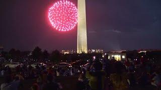 4th of July National Mall Fireworks Celebration 7.4.17