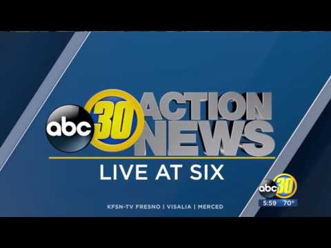 KFSN ABC 30 Action News Live At Six Open 3 21 17