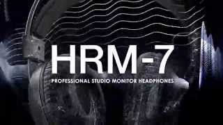 Pioneer HRM-7 Official Introduction(Pioneer DJ is launching a new line of professional studio products with the release of the HRM-7 monitor headphones – designed to deliver accurate, neutral ..., 2015-01-21T08:03:01.000Z)