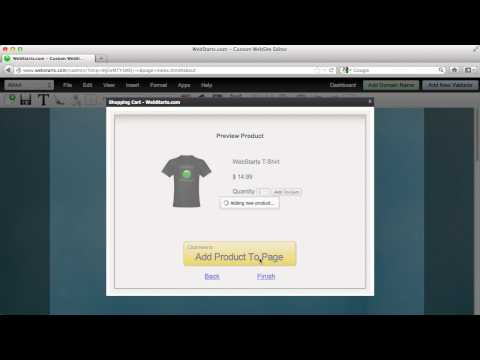 How To Sell Products On Your Website Using WebStarts.com