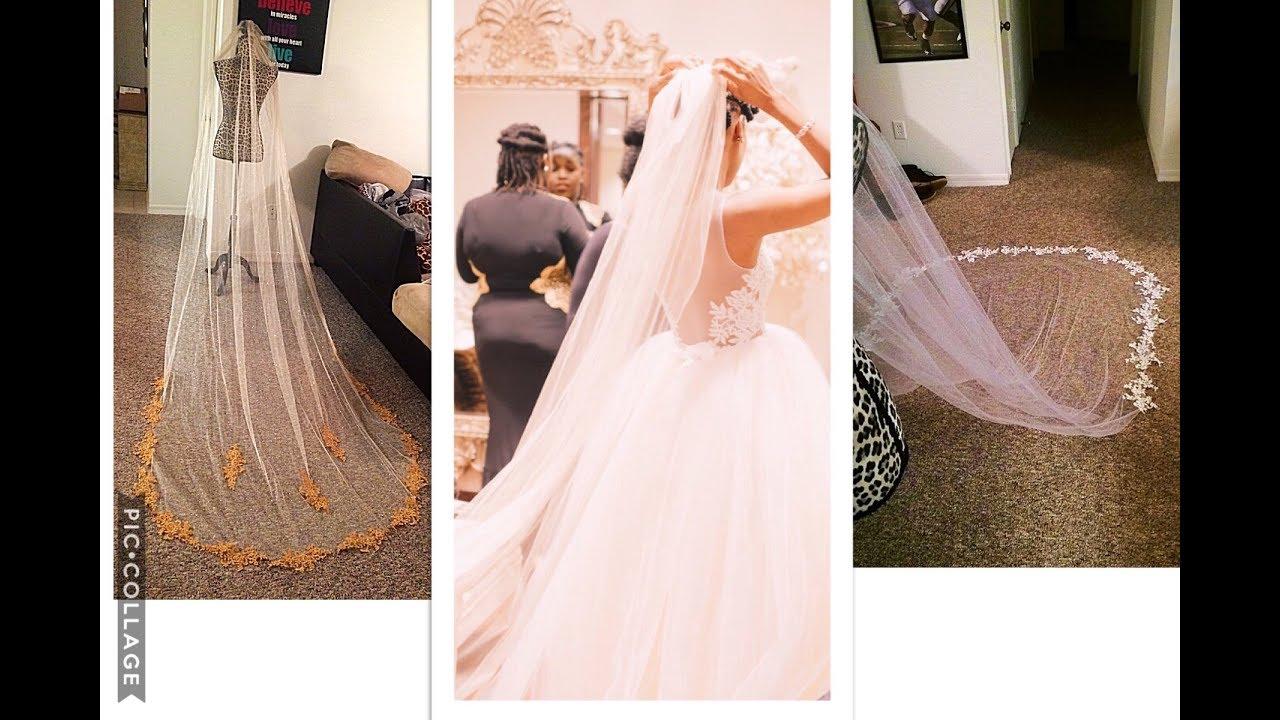 Make your own chapel length veil save wedding diy youtube make your own chapel length veil save wedding diy solutioingenieria Gallery