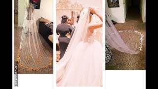 MAKE YOUR OWN CHAPEL LENGTH VEIL & SAVE HUNDREDS $$$ | WEDDING DIY
