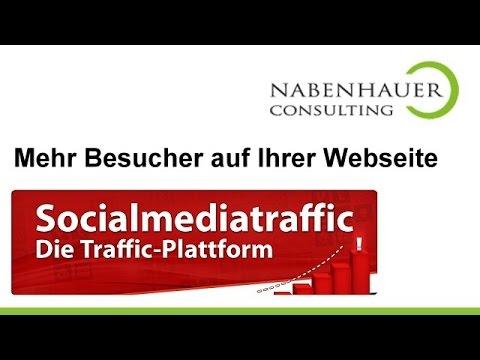 Social Media - Mehr Besucher auf Ihrer Webseite durch Social Media Traffic - Jetzt anmelden