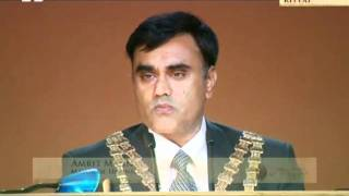 Amrit Mann, Mayor of Hounslow at Ahmadiyya Muslim Jalsa Salana UK 2011