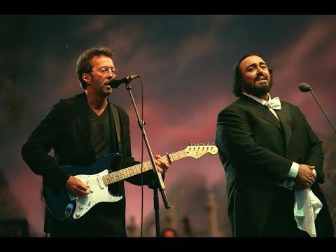 Eric Clapton & Luciano Pavarotti - Holy Mother. Parco Novi Sad, Modena, Italy. 20.06.1996