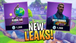 SKINS LEAKED ET PICKAXE COMING BEFORE SEASON 4! - Fortnite: Bataille Royale
