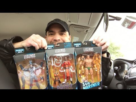 Episode 204 - TOY HUNTING MARVEL LEGENDS in DALLAS, TEXAS! CINCY ON THE ROAD!