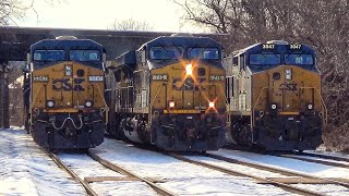 Triple CSX Meet In The Snow