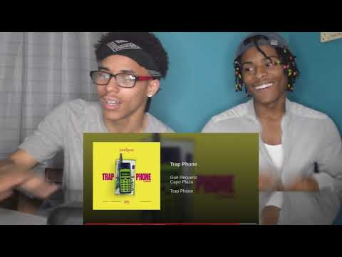 Trap Phone - Gue Pequeno ft. Capo Plaza REACTION w/FREESTYLE