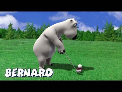 Bernard Bear | Golf club AND MORE | Cartoons for Children