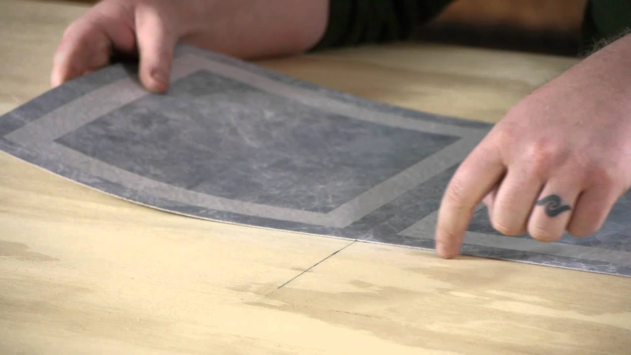 Laying Vinyl Over Plywood - YouTube