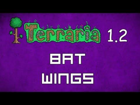 Bat Wings - Terraria 1 2 Guide New Wings! - GullofDoom