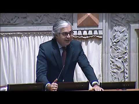 José Pedro Aguiar-Branco despede-se do Parlamento