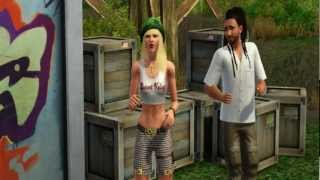 Gwen Stefani feat. Damian Marley - Now That You Got It [The Sims 3 Machinima]