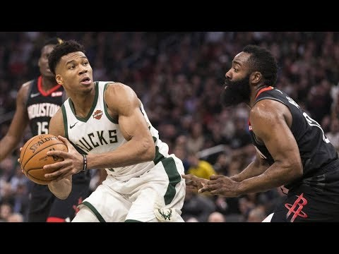 James Harden vs Giannis For MVP! CP3 Ankle Breaker! 2018-19 NBA Season thumbnail