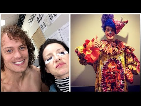 This Video Will Make You Love Sam Heughan  2018  Outlander Star