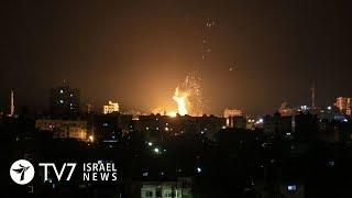 Палестинцы из сектора Газа выпустили по Израилю более 30 ракет | TВ7 Новости Израиля | 21.06.18