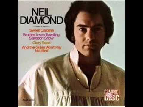 Neil Diamond Sweet Caroline Stereo Youtube