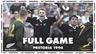 FULL GAME: All Blacks v South Africa (1996 – Pretoria)
