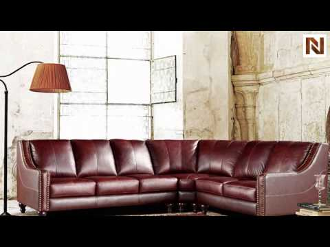 3024 - Brown Top Grain Italian Leather Sectional Sofa  VGEVCA3024 From VIG Furniture