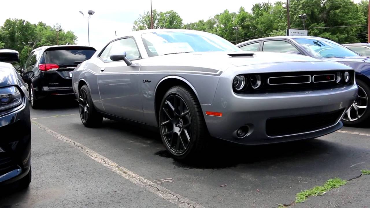 2016 dodge challenger silver youtube