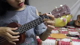 [Ukulele tutorial Solo] How to play Solo Ukulele Pink Panther- Cao Tiểu Yêu