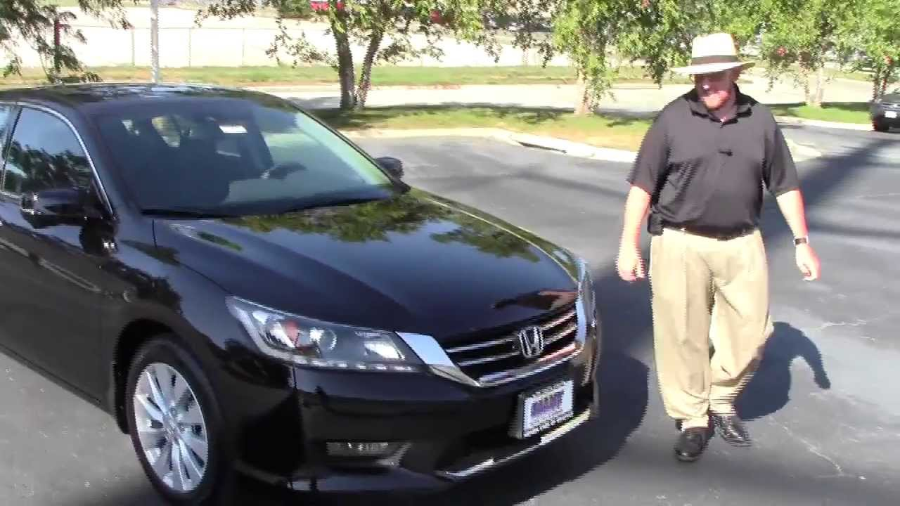 New 2014 Honda Accord EX L V6 Navi For Sale At Honda Cars Of Bellevue...an  Omaha Honda Dealer!   YouTube
