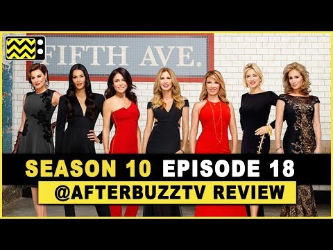 Real Housewives of New York City Season 10 Episode 18 Review & After Show