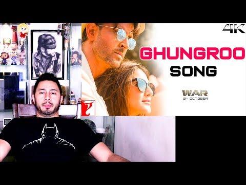 GHUNGROO   Music Video Reaction   War   Hrithik Roshan, Vaani Kapoor   Ft, Arijit Singh, Shilpa Rao