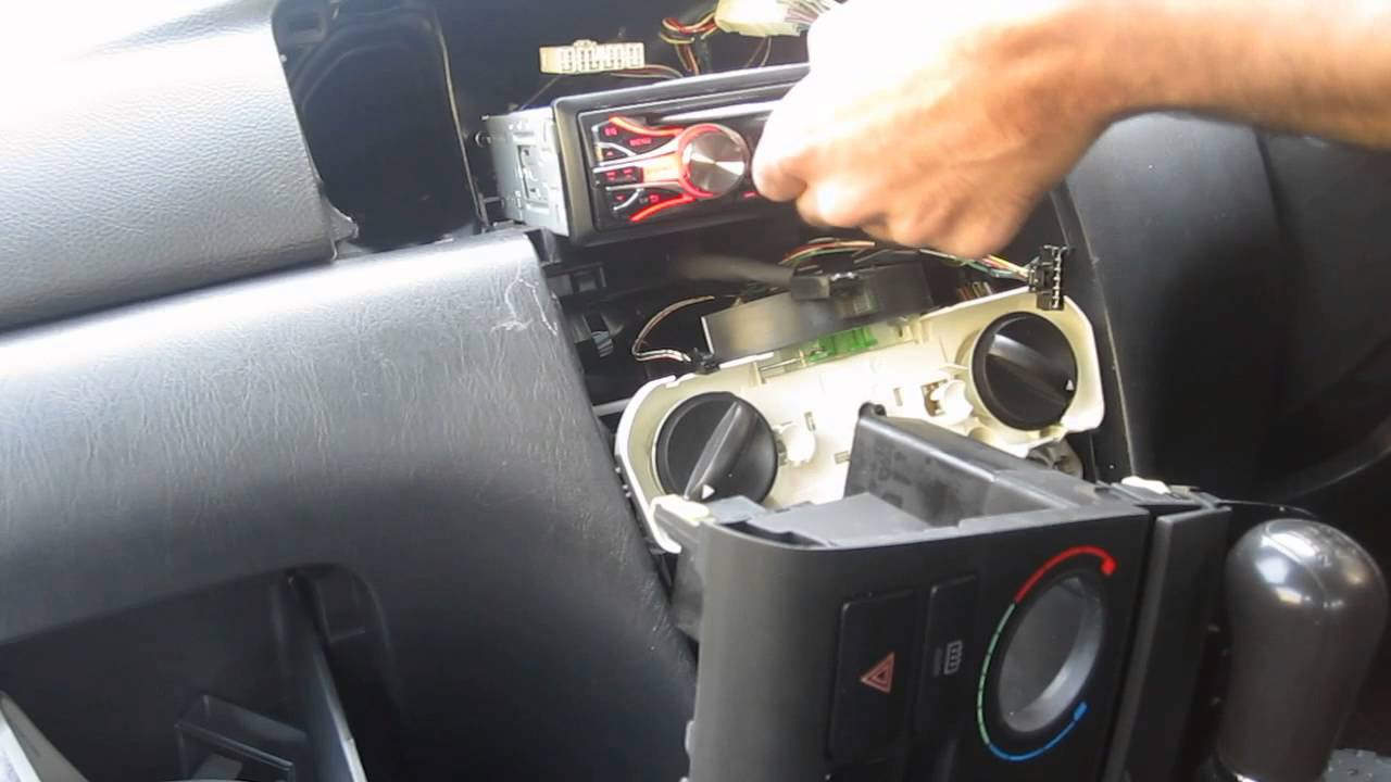 replacing my car stereo jvc kd r