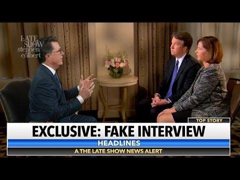 Stephen Interviews Fox News Interview Of Brett Kavanaugh