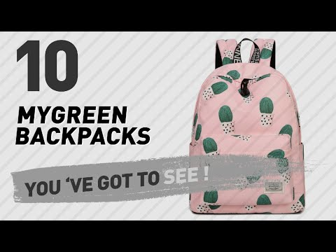 Top Backpacks By Mygreen // New & Popular 2017