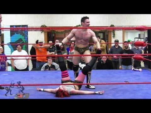 """Beyond Wrestling [Free Match] Addy Starr vs. Stan Stylez - """"Off The Grid"""" Intergender Mixed ISW AIW"""