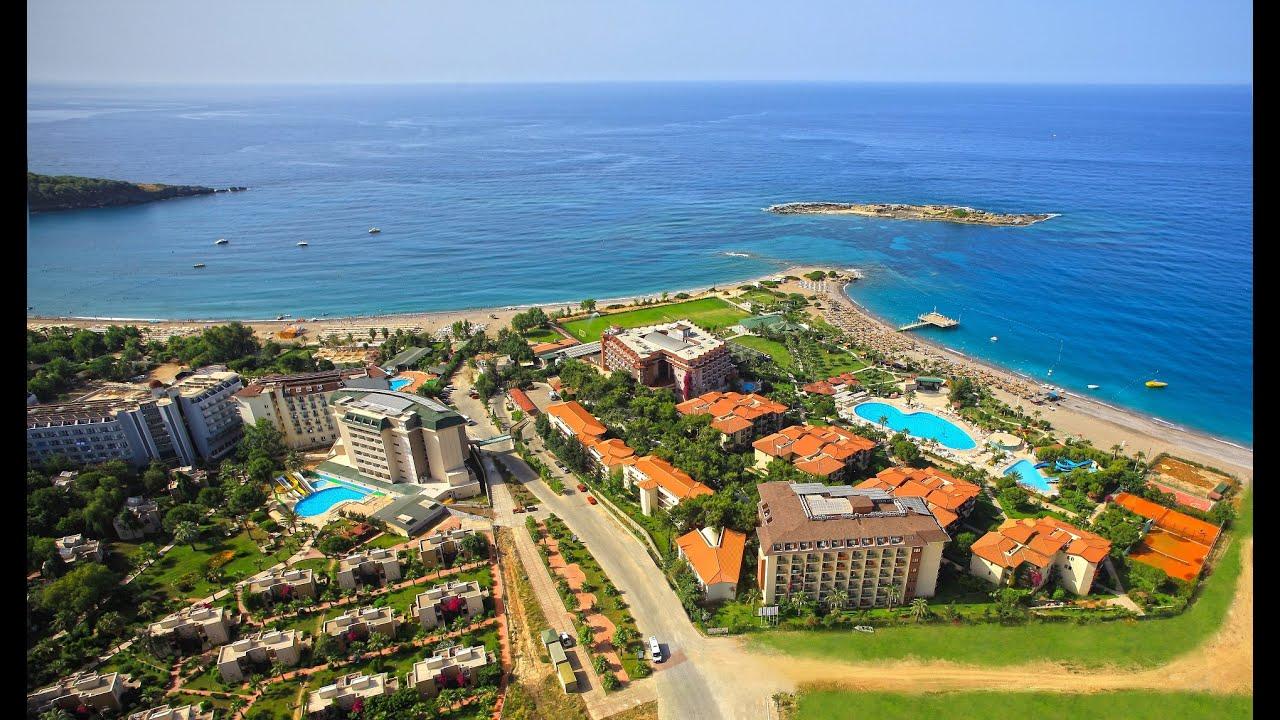 Justiniano Club Park Conti 5☆ Hotel Alanya Turkey - YouTube
