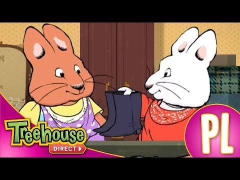 Maks i Ruby,rodzeństwo króliczków.