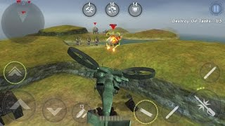 GUNSHIP BATTLE : Helicopter 3D Android Gameplay