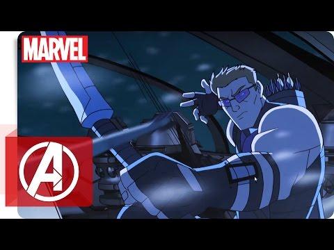 Avengers - Clip: Red Skull überwältigen | Marvel Kids