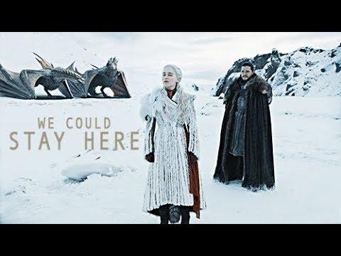 Jon & Daenerys // For Love (8x01)