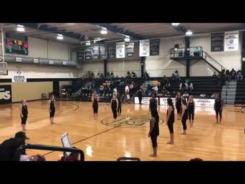 East Central Community College Centralettes - Halftime Performance