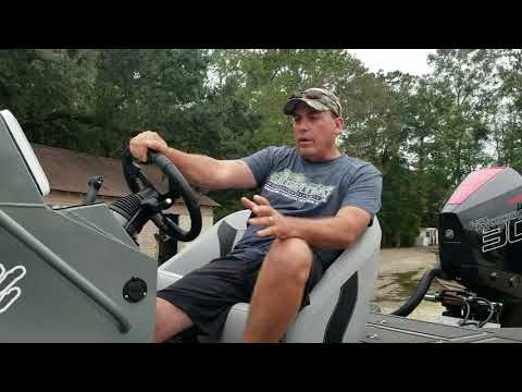 Two Custom Center Console Strike Series Bass Boats by Gator Trax