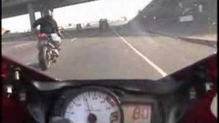 california gsxr 600 riding {in MPH} real fast street bikes..