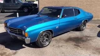 1972 Chevelle $24,900 Heavy Chevy Maple Motors