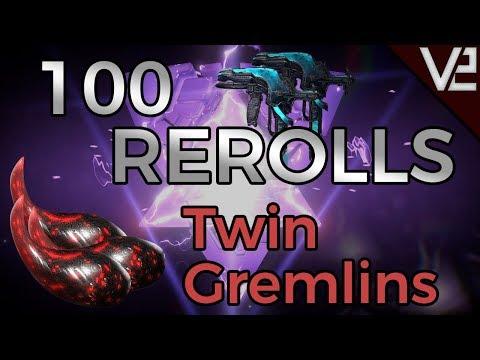 Warframe - 100 Rerolls: Twin Gremlins thumbnail