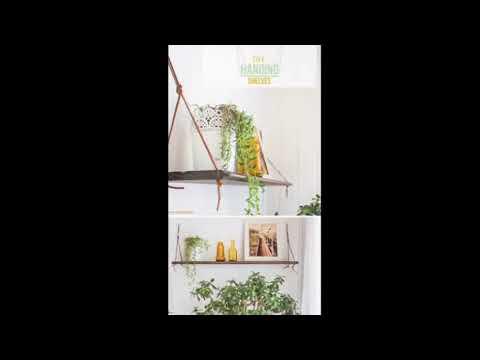 Hanging Shelf - Hanging Shelf Decorating Ideas | Modern Wooden & Metal Shelves Best Pics